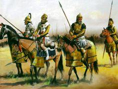 Carthaginian cavalry in Spain