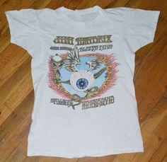 RaRe *1972 JIMI HENDRIX* vtg rock concert t-shirt (L) 1970s Fillmore Winterland #Unknown #GraphicTee