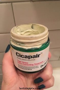 Jart+'s Cicapair™ Tiger Grass Color Correcting Treatment SPF 30 at Sephora. This green-to-beige color-correcting treatment corrects redness and protects skin. Beauty Care, Diy Beauty, Beauty Skin, Health And Beauty, Beauty Ideas, Homemade Beauty, Face Beauty, Healthy Beauty, Beauty Trends