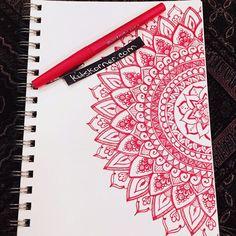 Sketchbook : Mandalas #141 @ http://kitskorner.com