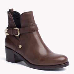 Tommy Hilfiger Parson Ankle Boots - deep taupe (Braun) - Tommy Hilfiger Stiefel & Stiefeletten - Hauptbild