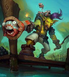 Piranha Pistolero Goblin by ExoMemory