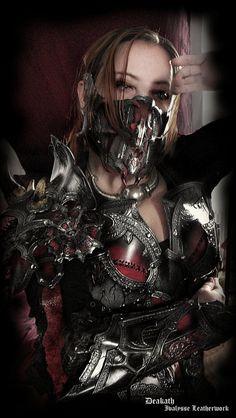 Chaos female armor by Deakath.deviantart.com on @deviantART