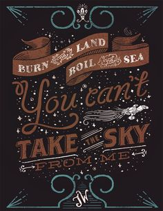 You Can't Take the Sky from Me #firefly
