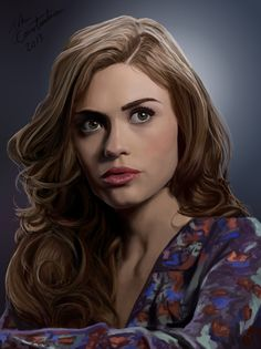 Holland Roden / Lydia Martin by ~johnneh-draws on deviantART (Lydia Martin, Holland Roden, Teen Wolf Fanart) Teen Wolf Fan Art, Teen Wolf Dylan, Lydia Banshee, Lydia Martin Style, Wolf Artwork, Wolf Love, Girl Celebrities, Tumblr, Manga