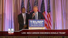 Ben Carson Endorses Donald Trump FULL Press Conference (3-11-16)