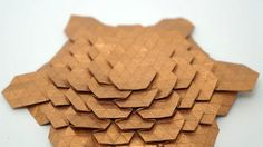 Jo Nakashima - Origami Spread Hex Tessellation (Eric Gjerde) - normal speed collapsing