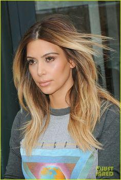 Celeb Diary: Kim Kardashian in New York