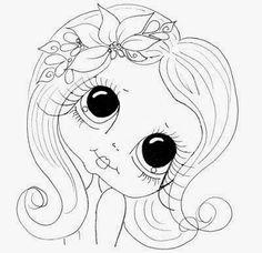 KarinsArtScrap: She is so Sweet and FREEBIE