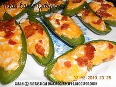 wonderfull to see Appetizer Dips, Appetizer Recipes, Snack Recipes, Snacks, Jalapeno Cornbread Poppers, Stuffed Jalapeno Peppers, Vegetable Recipes, Chicken Recipes, Veggie Tales