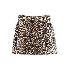 Leopard Print Mini Skirt – Nads Shoes Leopard Print Skirt, Leopard Fashion, Casual Skirts, Printed Skirts, Street Wear, Mini Skirts, Zipper, Clothes For Women, Lady