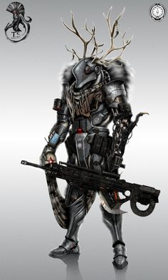 """one of the main helldiver characters """"Markov"""" mix of professional sifi soldier and old world hunter warrior the sniper of the team Helldiver Markov Character Concept, Character Art, Character Design, Armor Concept, Concept Art, Killzone Shadow Fall, Futuristic Armour, Sci Fi Armor, Future Soldier"""