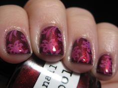 Lavish Layerings - Layering with Nail Pattern Boldness Boop Oop-a-Dupe