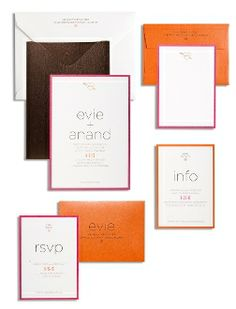 Evie and Anand Invite http://www.shop.marsupialonline.com/
