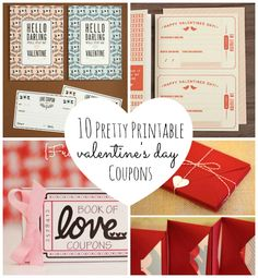 10 Pretty Printable Valentine's Day Coupons   Babble
