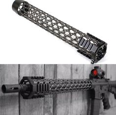 Brigand Arms created a Carbon Fiber Front Stock to minimize the weight of the AR-15: