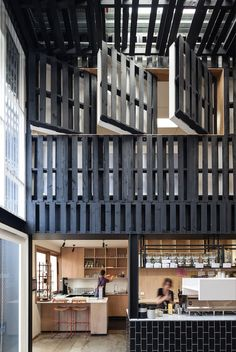 Industry Beans (Australia) - Figureground Architecture