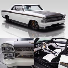 Custom 66 Chevy II Nova, Wicked beyond belief! Custom Muscle Cars, Chevy Muscle Cars, Custom Cars, Top Cars, Modified Cars, American Muscle Cars, Sexy Cars, Amazing Cars, Luxury Cars
