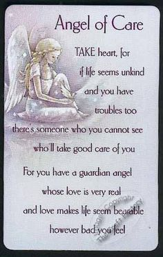 Angel of Care! love positive words We all have Gaurdian Angels. Angel Protector, Love Quotes, Inspirational Quotes, Heaven Quotes, Mommy Quotes, Meaningful Quotes, I Believe In Angels, My Guardian Angel, Angels In Heaven