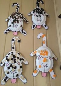 Cat crafts for toddlers cat craft for kids cat preschool crafts . Kids Crafts, Daycare Crafts, Cat Crafts, Crafts For Kids To Make, Animal Crafts, Toddler Crafts, Easter Crafts, Projects For Kids, Art For Kids