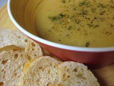 The Merlin Menu: Crock Pot Potato Leek Soup
