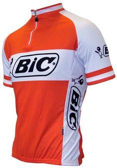 BIC #retro #wielershirt #fietskleding