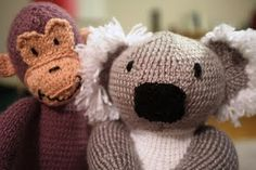 More critters from Sarah Keen's Knitted Wild Animals