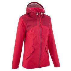 b14144ce7ad47 Deportes de Montaña Deportes de Montaña - Chaqueta de montaña impermeable  Arpenaz 100 mujer rosa QUECHUA