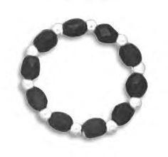 Black Czech Glass Stretch Toe Ring  http://salernosjewelrystore11.ecrater.com/p/4996968/black-czech-glass-stretch-toe