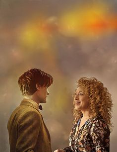 River Song and the Doctor fan art: we'll meet again, finally...