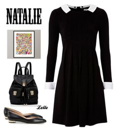 Nathalie by lellelelle on Polyvore featuring polyvore, fashion, style, Tory Burch, Forever New, Topshop and clothing