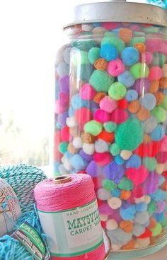 Pom Pom display