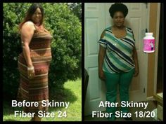 Wow, her 90 day challenge pictures are amazing :) Sherl definitely lost weight with Skinny Fiber!