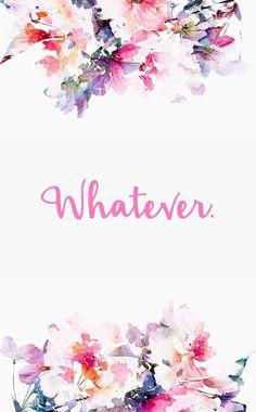 floral, wallpaper, a