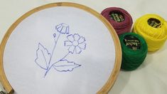 Hand embroidery beautiful and unique hand stitch flower design/for beginners hand design Hand Designs, Mehndi Designs, Flower Designs, Love U Friend, Loving U, Hand Stitching, Hand Embroidery, Make It Yourself, Unique