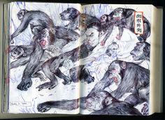 Mu Pan art and sketchbooks-http://mupan.com/