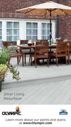 SILVER LINING  is a part of the Olympic Resurfacer Colors - Gray collection by Olympic® Stains.