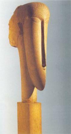 Head - Amedeo Modigliani