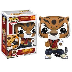 Kung Fu Panda Tigress Pop! Vinyl Figure - Funko - Kung Fu Panda - Pop! Vinyl Figures at Entertainment Earth
