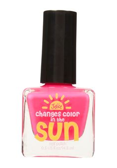 Color Changing Nail Polish (original price, $5.90) available at #Justice