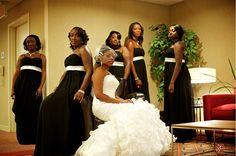 Black People Wedding Reception Dancing | Real {NY} Wedding: Natifia Gaines + Donald Mullings - Munaluchi Bridal ...