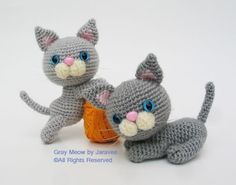 Gray Meow by Jaravee, via Flickr