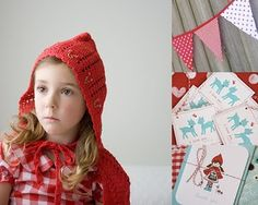 little red riding hood birthday party, dress up birthday party