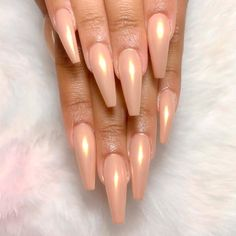 Cool Coffin Tip Nails Designs To Try ★ See more: https://naildesignsjournal.com/coffin-tip-nails-designs/ #nails
