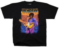 Jimi Hendrix- 3Rd Stone From The Sun T-shirts at AllPosters.com