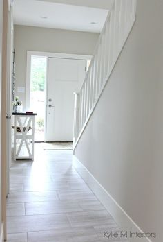 Color Inspiration Benjamin Moore Edgecomb Gray is a great greige or gray paint color to lighten an
