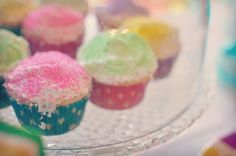 Kids Birthday Party Ideas – Spa Themed Girls Birthday Party. Cupcakes for dessert