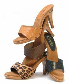 Candies Wooden Sandals, Auntie, Candies, Heeled Mules, Clogs, Nostalgia, High Heels, Barbie, Platform