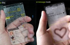 window phone can detect surroundings and change it's appearance according to the weather.