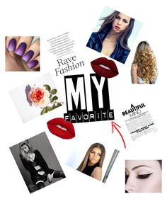 """Red lips"" by zombies102 ❤ liked on Polyvore featuring art"